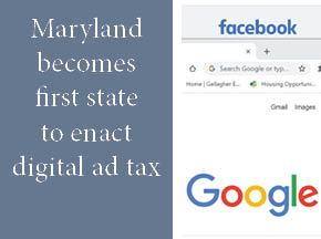 Image relating to Maryland's Digital Ad Tax